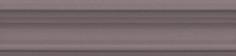 Керамическая плитка Планте Бордюр Багет коричневый BLB026 5х20