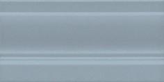 Керамическая плитка Планте Плинтус лазурный FMD001 20х10