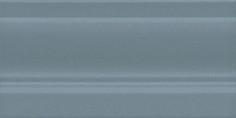 Керамическая плитка Планте Плинтус лазурный темный FMD004 20х10