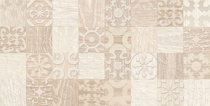 Керамическая плитка Platan Декор бежевый 08-03-11-429 20х40