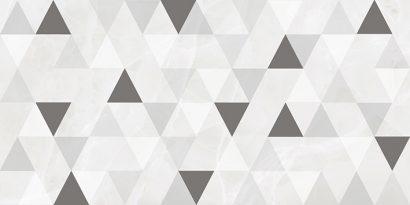 Керамическая плитка Plazma Avers Декор белый 30х60