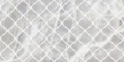 Керамическая плитка Plazma Nuance Декор серый 30х60