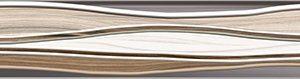 Керамическая плитка Плессо Бордюр рельефный БД53ПЛ406   BWU53PLS406   BWD53PLS406  50х6