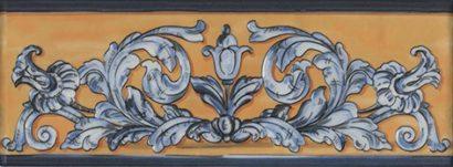Керамическая плитка Площадь Испании Декор HGD B348 15129 15х40