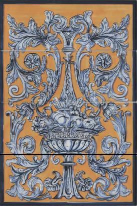 Керамическая плитка Площадь Испании Панно HGD B347 4х 15129 60х40