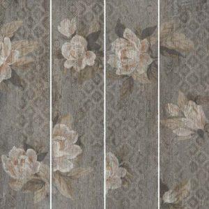 Керамогранит Поджио Цветы коричневый обрез SG704400R 200x800 мм - 1