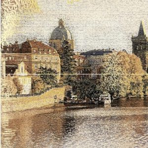 Керамическая плитка Прага Панно из 2 плиток ПН7ПГ2 36
