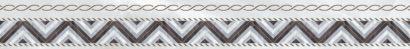 Керамическая плитка Prime Бордюр серый микс 6х50