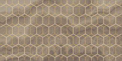 Керамическая плитка Prime Декор коричневый 25х50