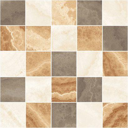 Керамическая плитка Prime Декор мозаичный бежевый микс MM34039 25х25
