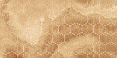 Керамическая плитка Prime Декор оранжевый 25х50