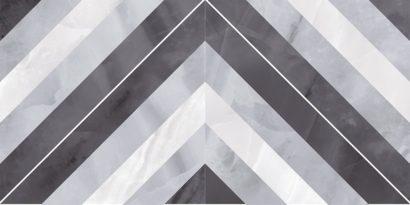 Керамическая плитка Prime Плитка настенная серый микс 34025 25х50
