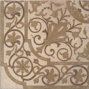 Керамическая плитка Принстаун Декор напольный светлый STG A284 3423 30