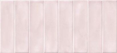 Керамическая плитка Pudra облицовочная плитка кирпич рельеф розовый (PDG074D) 20x44