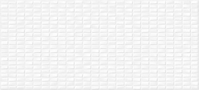 Керамическая плитка Pudra облицовочная плитка мозаика рельеф белый (PDG053D) 20x44