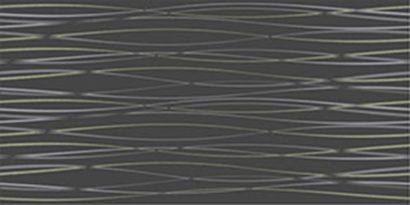 Керамическая плитка Релакс Плитка настенная черный 10-11-04-605 25х50