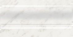 Керамическая плитка Ретиро Плинтус белый FMD018 20х10