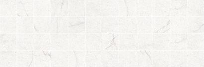 Керамическая плитка Rock Декор мозаичный белый MM11186 20х60