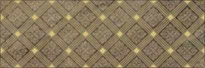 Керамическая плитка Royal Декор коричневый 20х60