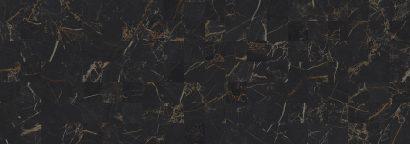 Керамическая плитка Royal Плитка настенная чёрный мозаика 60052 20х60