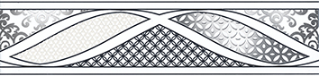 Керамическая плитка Руаяль Бордюр HGD B314 13000R 30х7