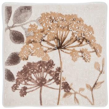 Керамическая плитка RUTH FLOWER 2 бежевый Декор 10х10
