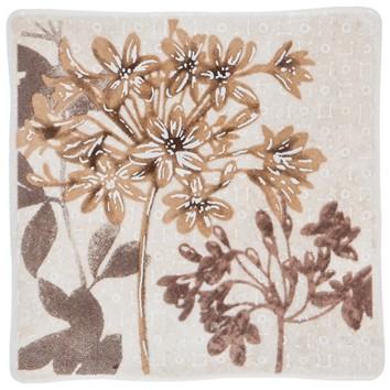 Керамическая плитка RUTH FLOWER 3 бежевый Декор 10х10