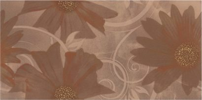 Керамическая плитка Sabro Brown Kwiat Декор 29