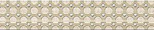 Керамическая плитка Сатти Бордюр Флоу 27