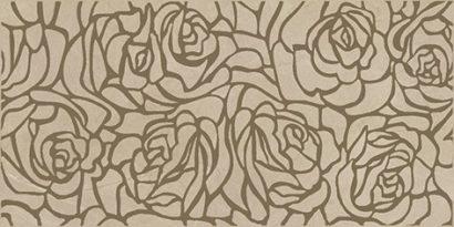 Керамическая плитка Serenity Rosas Декор коричневый 08-03-15-1349 20х40