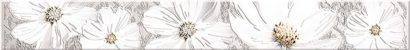 Керамическая плитка Sfumato grey Бордюр Floret 50