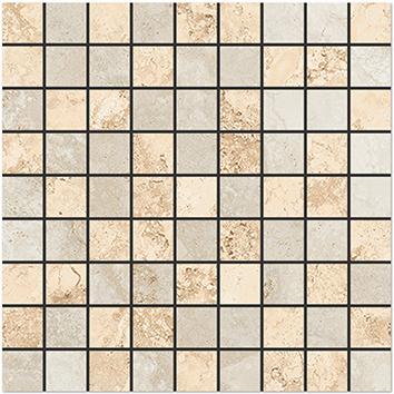 Плитка мозаика Shakespeare Мозаика Бежевый K-4003 SR m01 30x30