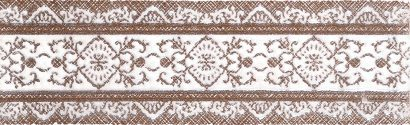 Керамическая плитка Шамони кор 01 Бордюр 25x7
