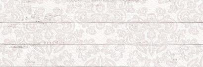 Керамическая плитка Шебби Шик Плитка настенная декор белый 1064-0027   1064-0097 20х60