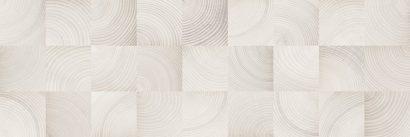 Керамическая плитка Шиен 7Д Плитка настенная декор белый