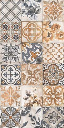 Керамическая плитка Сиена Плитка настенная декор универсальная 1041-0163 19