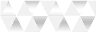 Керамическая плитка Sigma Perla Декор белый 17-03-00-463-0 20х60