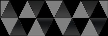 Керамическая плитка Sigma Perla Декор чёрный 17-03-04-463-0 20х60