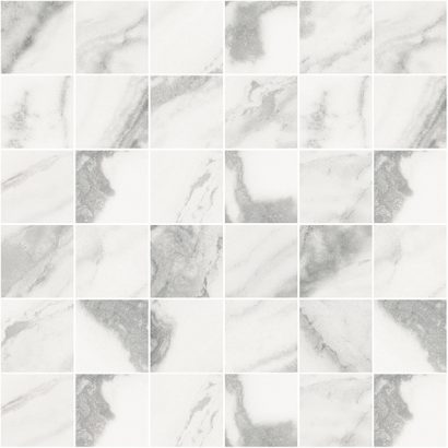 Плитка мозаика Silver Мозаика белый 30х30