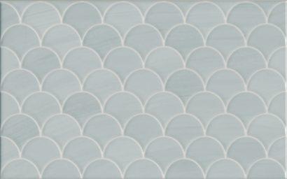 Керамическая плитка Сияние голубой структура 6376 25x40