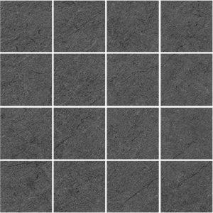 Керамическая плитка Story Декор мозаичный чёрный MM60094 20х60