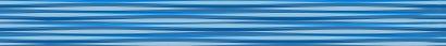 Керамическая плитка Stripes Бордюр синий 5х50