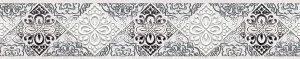 Керамическая плитка Студио Бордюр серый 58-03-06-656 5х60
