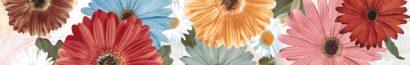 Керамическая плитка Sunshine Multicolor Бордюр 8х50