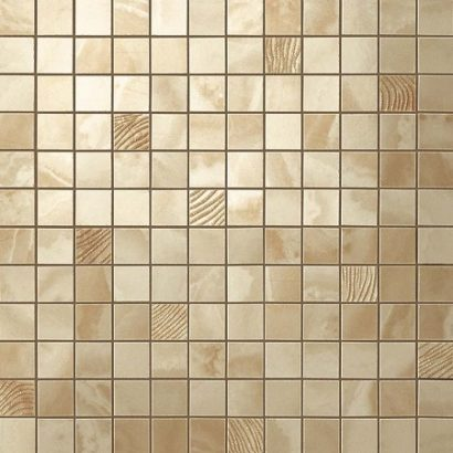 Керамогранит Супернова Оникс Роял Голд Мозаика 305х305 мм - 0