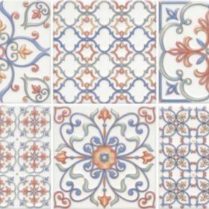 Керамическая плитка Суррей Плитка настенная 5227 20х20