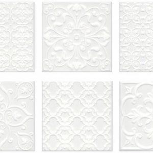 Керамическая плитка Суррей Плитка настенная белый 5226 20х20