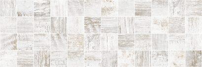 Керамическая плитка Sweep Декор мозаичный белый MM60114 20х60