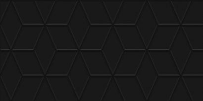 Керамическая плитка Tabu Плитка настенная чёрный рельеф 30х60