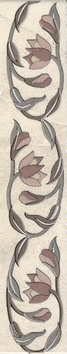 Керамическая плитка Тадж Махал Бордюр AC224 8219 30х5